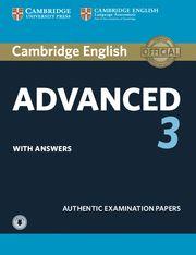 CAMBRIDGE ADVANCED (CAE) 3 SB Exam Papers with  key - Up Exam Ed 2015