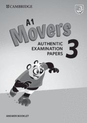 CAMBRIDGE MOVERS 3 Answer Booklet  Exam Papers Revised Exam 2018