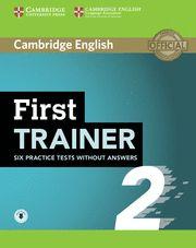 CAMBRIDGE FIRST (FCE) TRAINER 2 + Audio Ed 2015