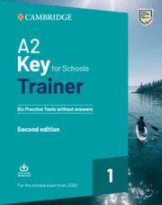 A2 KEY FOR SCHOOLS (KET) TRAINER 1 SB + Audio  Ed 2020