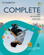COMPLETE KEY FOR SCHOOLS STUDENT´S BOOK WITHOUT ANSWERS WITH ONLI