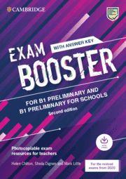 EXAM BOOSTER CAMB PRELIMINARY & PRELIM FOR SCHOOLS  +  Answer + Audio