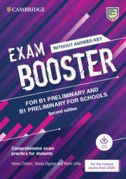 EXAM BOOSTER CAMB PRELIMINARY & PRELIM FOR SCHOOLS + Audio