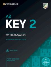 A2 KEY (KET)  2 SB + Answers + Audio Practice Tests  Ed 2020