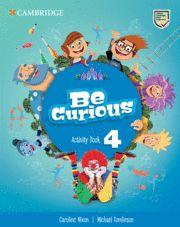 BE CURIOUS 4ºEP WB 20