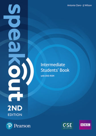 SPEAKOUT INTERMEDIATE SB + DVD ROM 2nd Ed