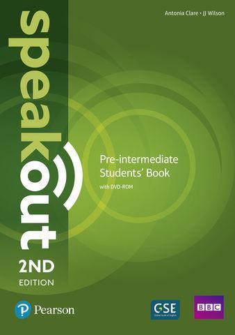 SPEAKOUT PRE INTERMEDIATE SB + DVD ROM 2nd Ed