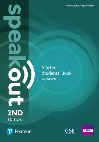 SPEAKOUT STARTER SB + DVD ROM 2nd Ed