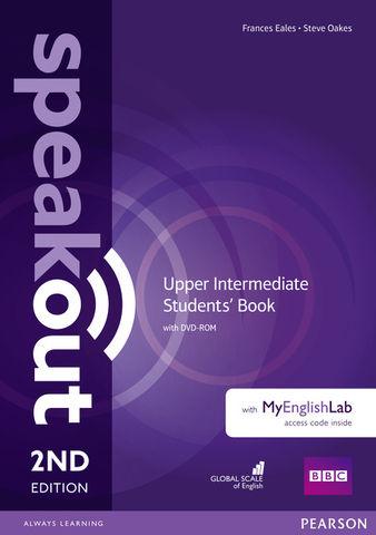 SPEAKOUT UPPER INTER Students´ Book + MyEnglishLab 2nd Ed