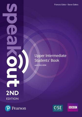 SPEAKOUT UPPER INTERMEDIATE SB + DVD ROM 2nd Ed