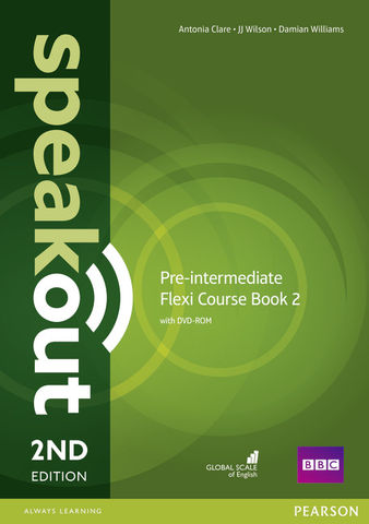 SPEAKOUT PRE-INT FLEXI COURSE BOOK 2 + DVD-ROM 2nd Edition