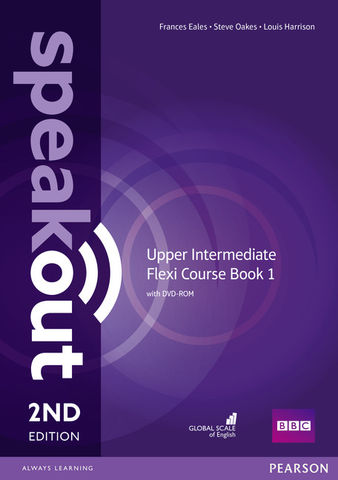 SPEAKOUT UPP INTERM Flexi Course Book 1 SB + WB with key + CD 2nd