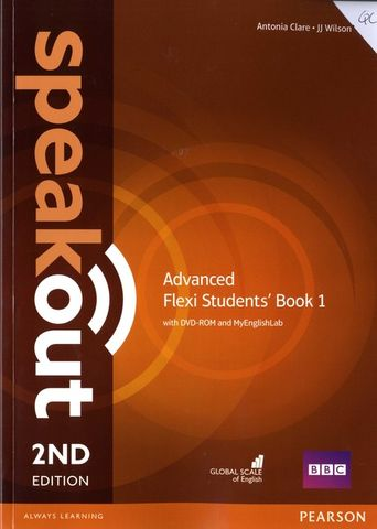 SPEAKOUT ADVANCED Flexi Course Book 1 SB + WB with key + CD 2nd Ed