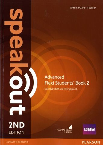 SPEAKOUT ADVANCED Flexi Course Book 2 SB + DVD ROM 2nd Ed