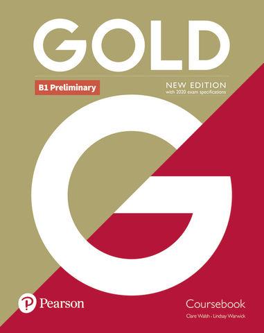 GOLD PRELIMINARY COURSEBOOK N/E