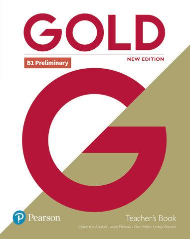 GOLD PRELIMINARY TEACHER+DVD PACK N/E
