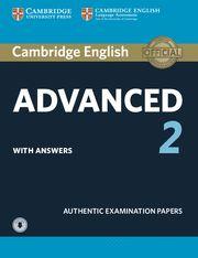 CAMBRIDGE ADVANCED (CAE) 2 Self Study + Audio Exam Pap - Upd Exa 2015