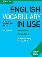ENGLISH VOCABULARY IN USE ADVANCED with Answers 3rd Ed