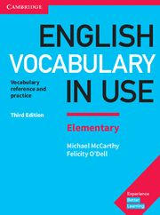 ENGLISH VOCABULARY IN USE ELEMENTARY + CD ROM + Answers 3d Ed