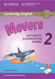 CAMBRIDGE MOVERS 2 SB  Examinations Papers Revised Exam 2018