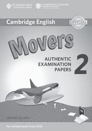CAMBRIDGE MOVERS 2 Answer Booklet  Exam Papers Revised Exam 2018