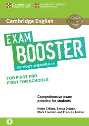 EXAM BOOSTER CAMBRIDGE FIRST & FIRST FOR SCHOOLS + Audio