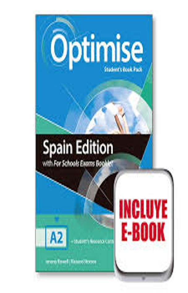 OPTIMISE A2 SB + Exam Booklet
