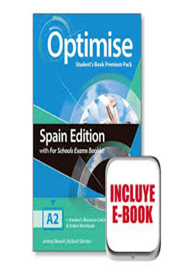 OPTIMISE A2 SB + Exam Booklet Premium