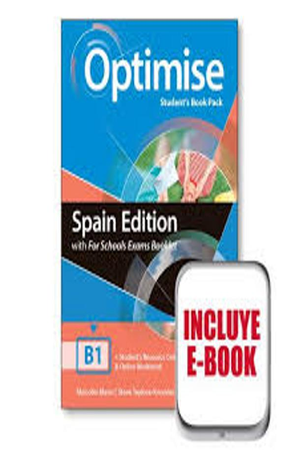 OPTIMISE B1 SB + Exam Booklet