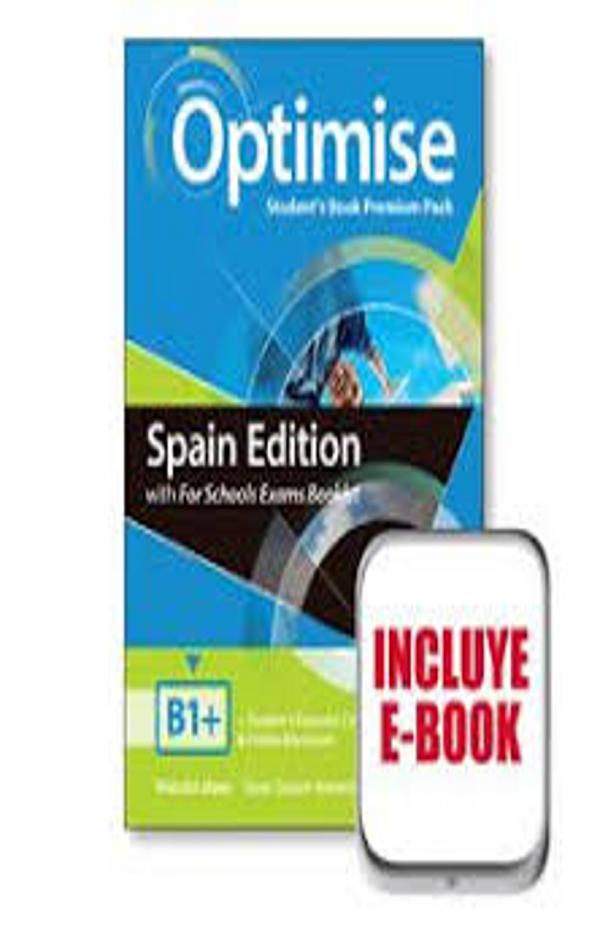 OPTIMISE B1+  SB + Exam Booklet Premium