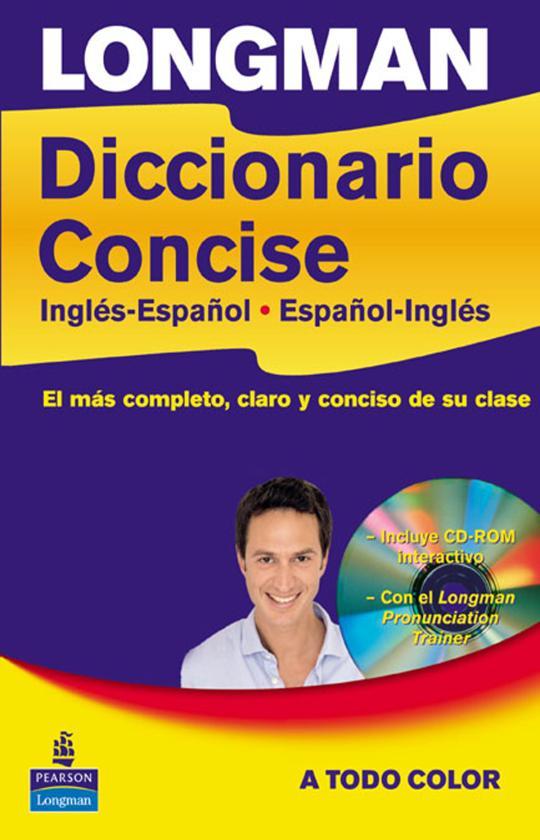 LONGMAN DICC CONCISE ESP / ING / ESP HB + CD ROM
