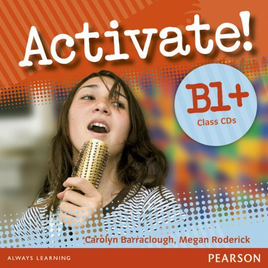 ACTIVATE! B1+ Class CDs