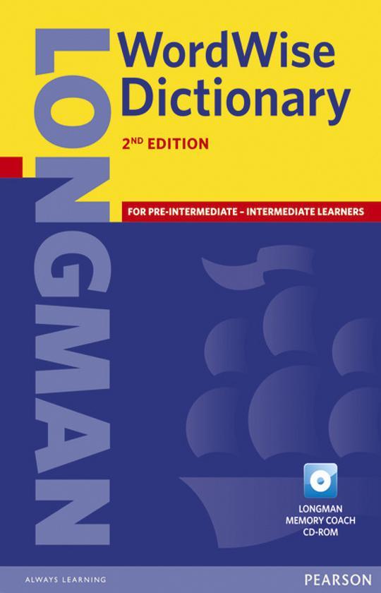 DICT Longman WORDWISE + CD ROM Paperback 2nd Ed