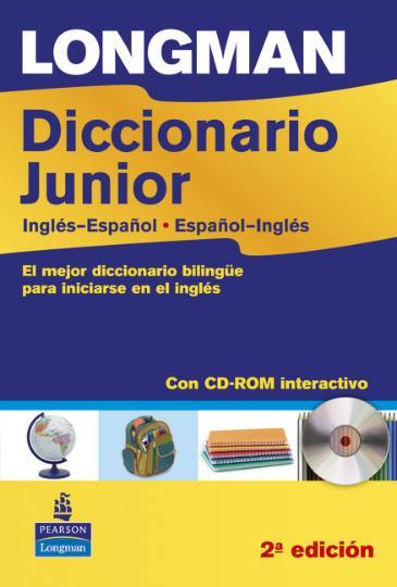 DICC JUNIOR LONGMAN Inglés - Español / Español - Inglés + CD ROM 2º Ed