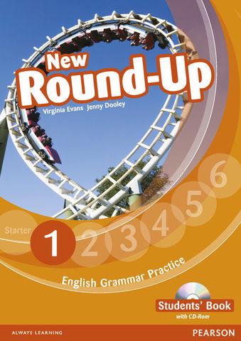 NEW ROUND UP 1 SB + CD ROM Ed 2010 - English Grammar Book