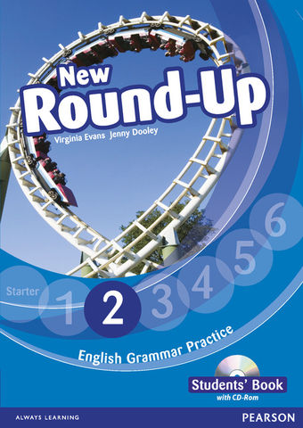 NEW ROUND UP 2 SB + CD ROM  Ed 2010 - English Grammar Book