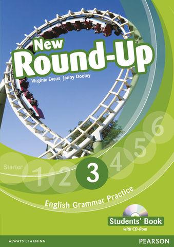 NEW ROUND UP 3 SB + CD ROM  Ed 2010 - English Grammar Book