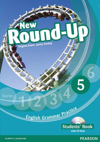 NEW ROUND UP 5 SB + CD ROM Ed 2012 - English Grammar Book