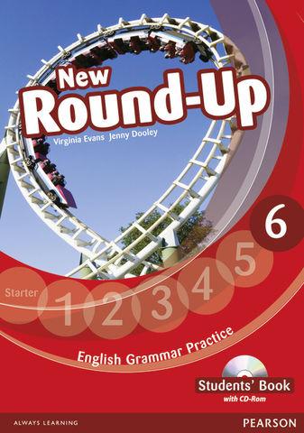 NEW ROUND UP 6 SB + CD ROM Ed 2012 - English Grammar Book