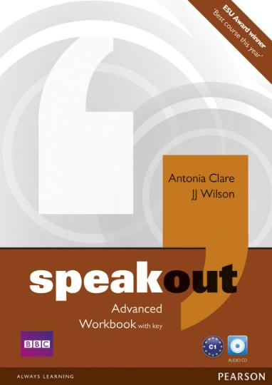 SPEAKOUT ADVANCED WB with key + CD