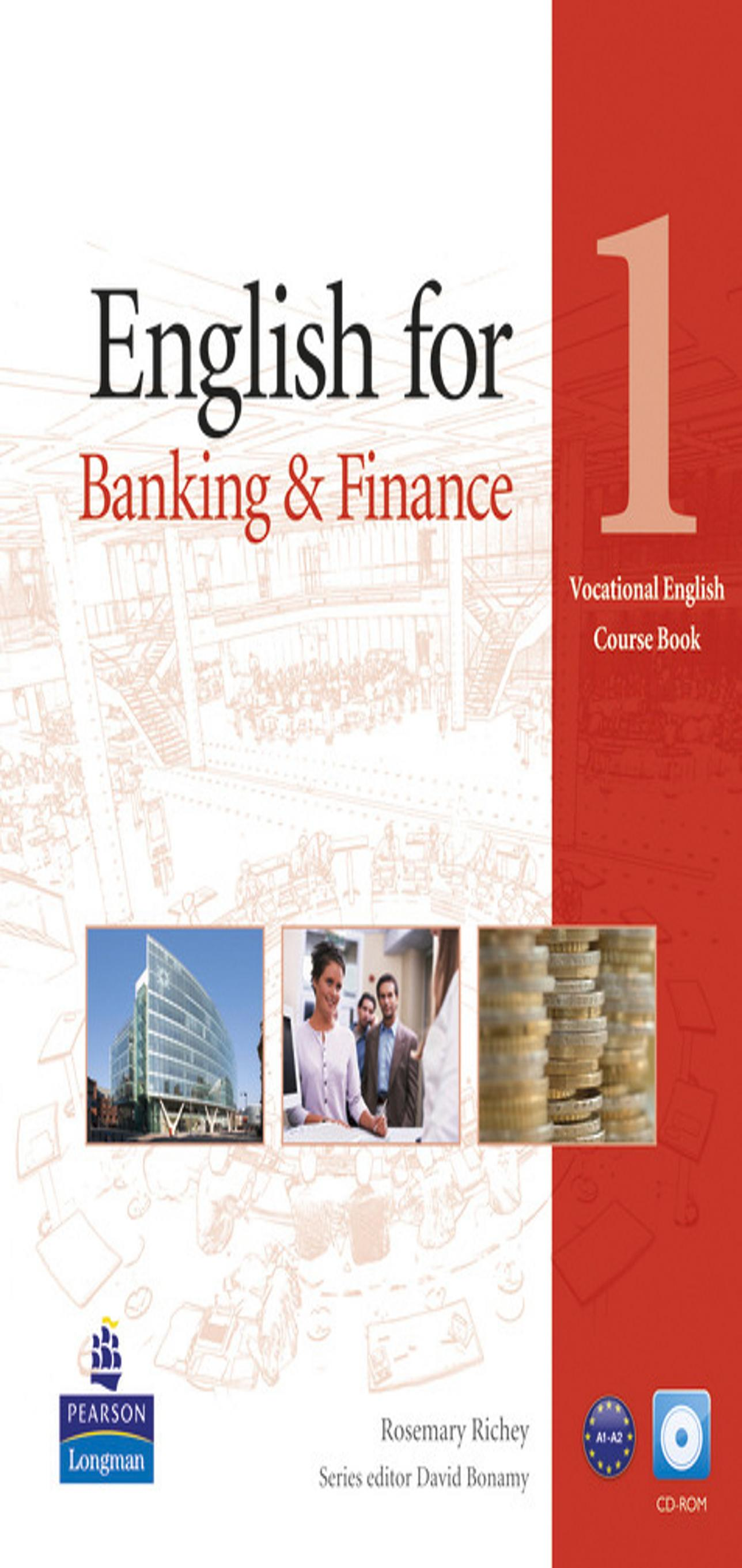 ENGLISH FOR BANKING & FINANCE 1 + CD SB