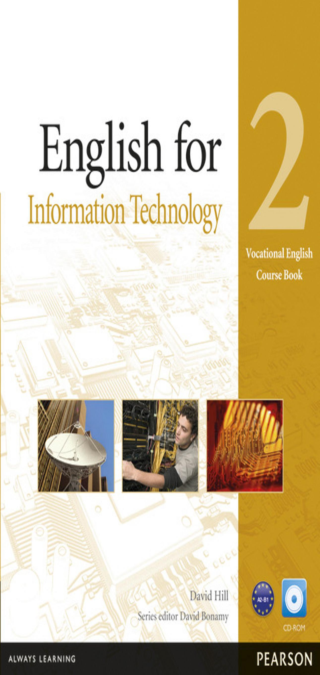 ENGLISH FOR INFORMATION TECHNOLOGY  2 + CD SB