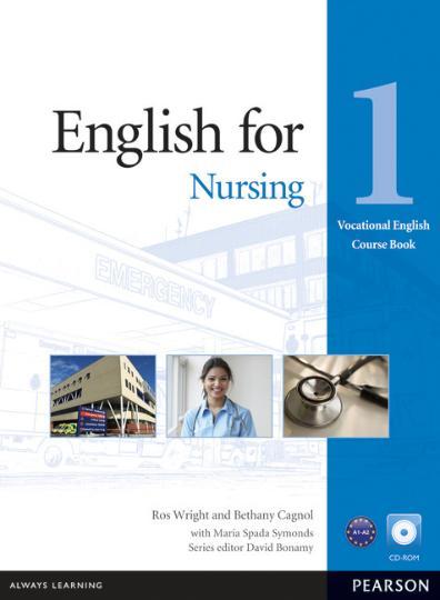 ENGLISH FOR NURSING 1 SB + CD ROM