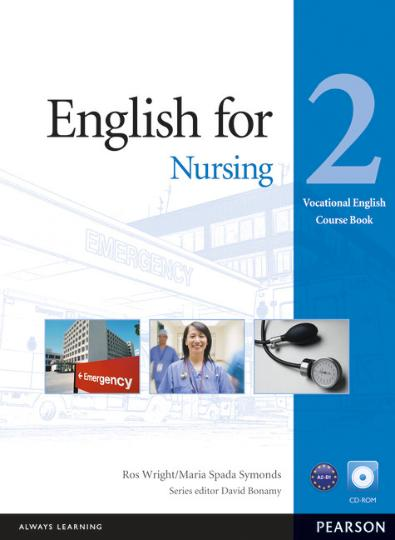 ENGLISH FOR NURSING 2 + CD ROM