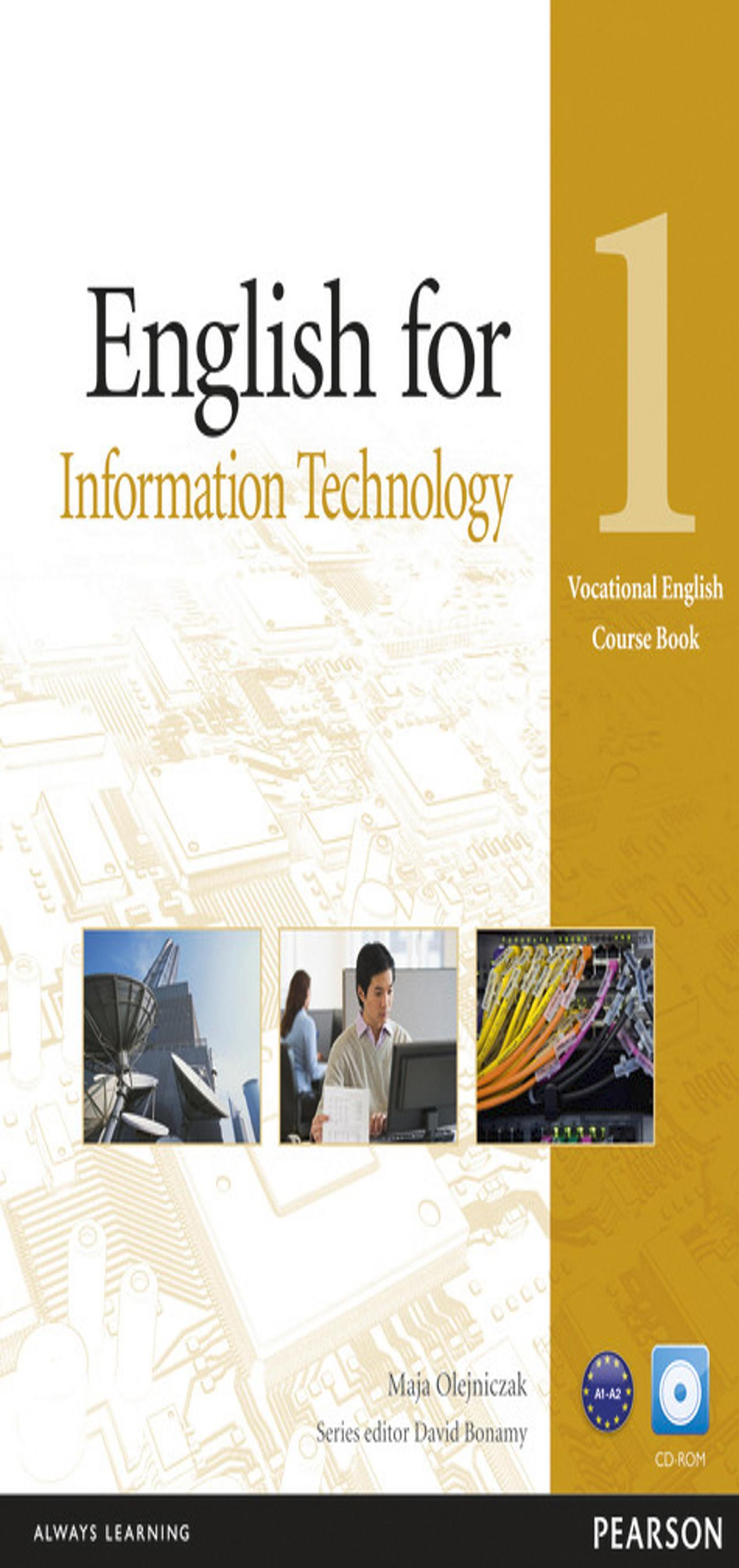 ENGLISH FOR INFORMATION TECHNOLOGY  1 + CD SB