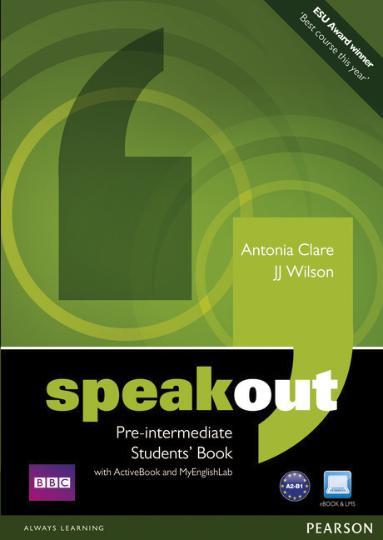 SPEAKOUT PRE INTERM SB +  ActiveBook & DVD rom