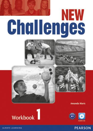 NEW CHALLENGES 1 WB + CD