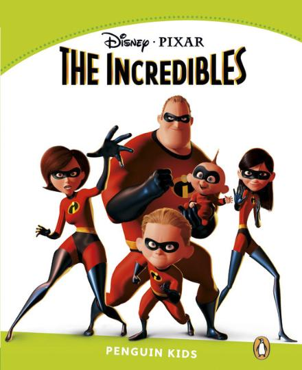 INCREDIBLES, THE - PK 4 Disney