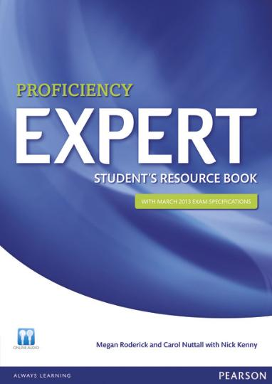PROFICIENCY EXPERT CPE Student´s Resource Book with key + CD