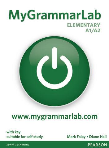 MY GRAMMARLAB ELEMENTARY A1/A2 with key